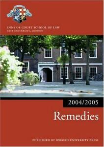 Remedies-2004-2005-by-Inns-of-Court-School-of-Law