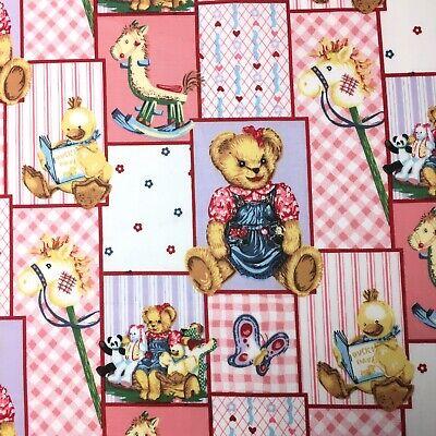 christmas fabric// children/'s fabric 1//2 metre// teddies bears cotton