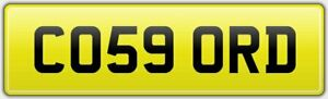 CO59-ORD-PRIVATE-CAR-REG-NUMBER-PLATE-FEES-PAID-ASTON-MARTIN-DBS-CONCORDE-MODEL