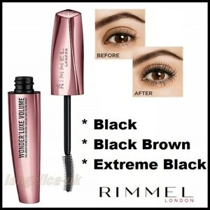 68f0bb101df Image is loading Rimmel-WONDER-LUXE-Eyelash-VOLUME-MASCARA-Longer-Lashes-