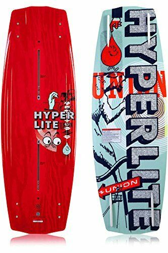 HYPERLITE UNION BWF WAKEBOARD – COLOR  RED – SIZE  134 CM – NEW
