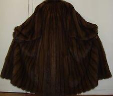 """Birger Christensen 50"""" Long Russian Sable Fur Coat Size 16-18 Excellent Conditio"""