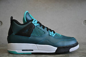 Teal Air blanco 4 negro Jordan Nike retro Retro teal Gs qXAwdnxZ6