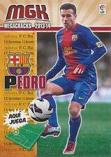 N°071 PEDRO # ESPANA FC.BARCELONA CARD PANINI MGK LIGA 2014