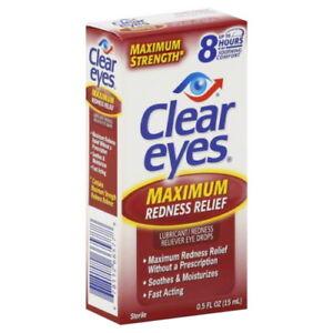 Clear Eyes Maximum Redness Relief 0.5oz 678112665778