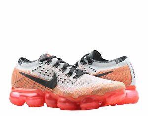 ca437261c5f2 Nike Air VaporMax Flyknit Grey Black-Crimson Women s Running Shoes ...