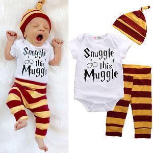 3PCS-Set-Newborn-Baby-Boys-Tops-Rompers-Leggings-Pants-Hat-Outfits-Clothes-0-18M