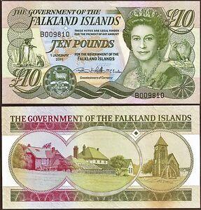 Falkland-Islands-10-banknote-2011-edition-Perfect-UNC-Condition