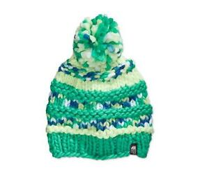 ecf9ab0df2dd8 The North Face Women s Nanny Knit Beanie Rave Green One Size Fits ...