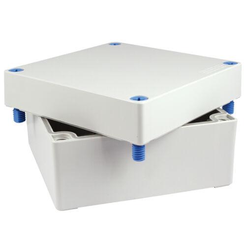 "ASI011700591 HWD NEMA 6 Polycarbonate Electrical Enclosure 5/""x5/""x3"""