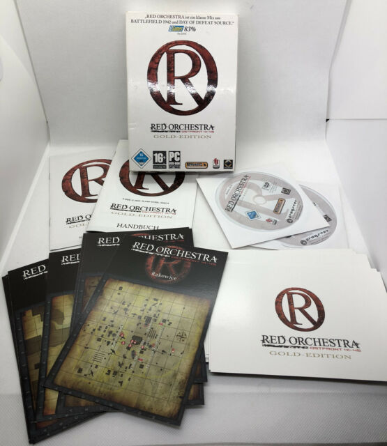 RED ORCHESTRA Ostfront 41-45 - GOLD EDITION - PC DVD-ROM Bold Games - Komplett