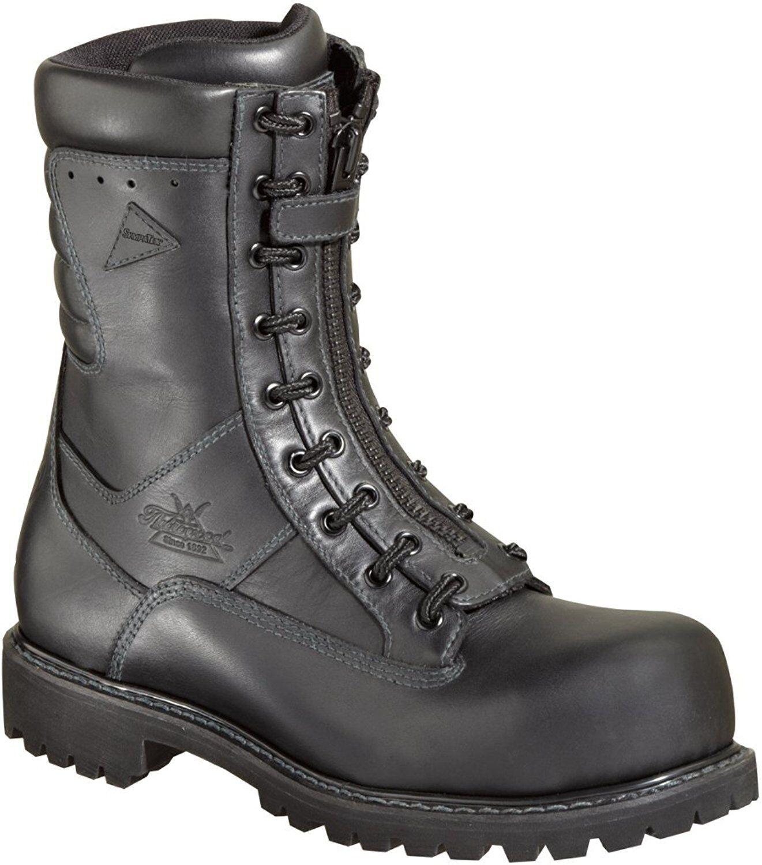 Thorogood 804-6379 para hombres 9  potencia EMS botas Negras Puntera De Seguridad compuesto forestales