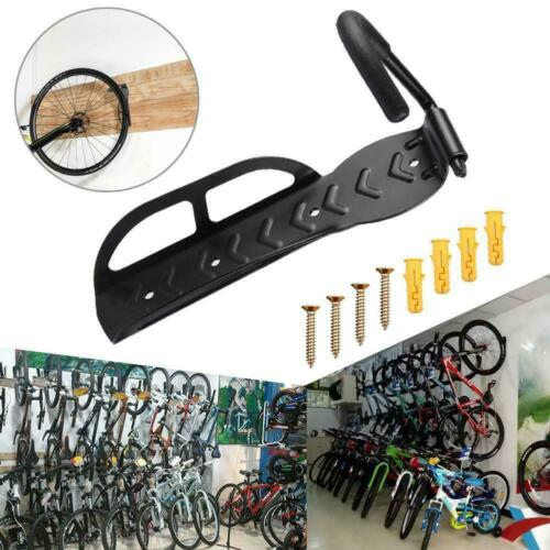 Lot 1x Bicycle Holder Wall Mounted Hook Hanger Stand Storage