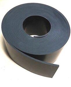 "Peel-Back Adhesive Neoprene Sheet Rubber Solid 1//8/"" Thk x 2/"" W x 12-Ft Strip"