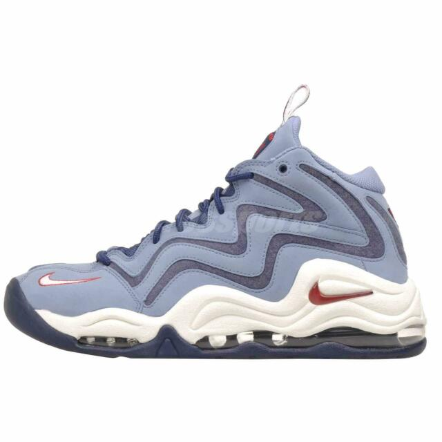 size 40 803af a0777 Nike Air Pippen Basketball Mens Shoes Sneakers Retro Blue 325001-403
