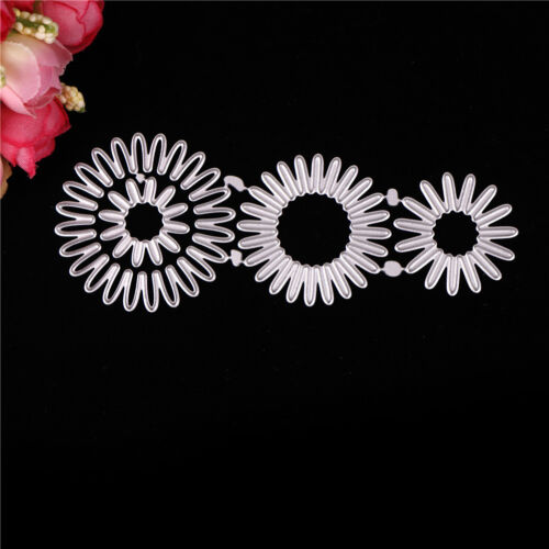 Greeting Cards Flower Style Metal Cutting Dies Paper Cards Diary Crafts Pip C/&E