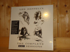 led zeppelin the complete bbc sessions atlantic 5x180g lp 3 cd box new sealed 81227943882 ebay. Black Bedroom Furniture Sets. Home Design Ideas