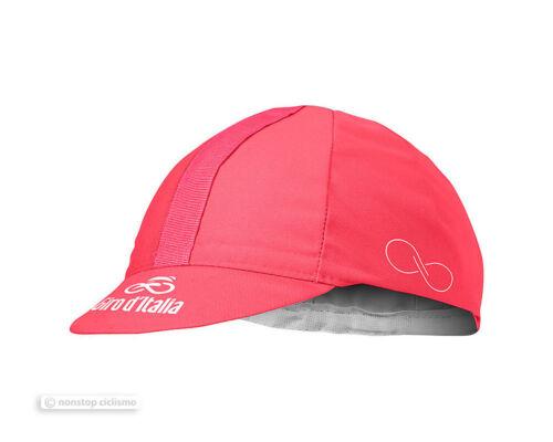 Castelli Official Giro d/'Italia Soft Cotton Cycling Cap GIRO PINK One Size