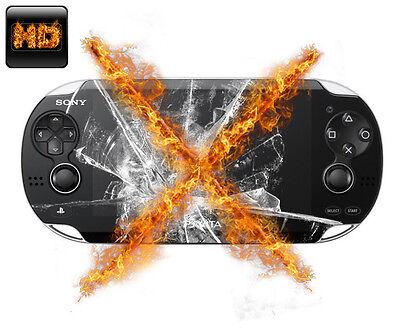 2x PS Vita HIGHTECH PANZERFOLIE ANTI-SCHOCK Displayfolie Schutzfolie Folie HD