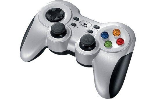 Logitech F710 Gamepad Advanced Console-Style USB Wireless PC Controller