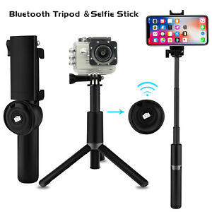 low priced 4b9fc 991cd Details about For iPhone X XR XS Max Extendable Selfie Stick Monopod  Bluetooth Remote Shutter