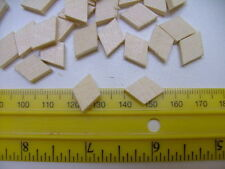 10 VIOLIN REPAIR CLEATS, PRE-CUT DIAMOND, FINE SPRUCE, 16X11X3MM,  UK SELLER!