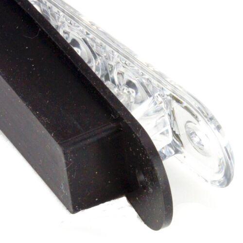 Classic LED Stop Tail Indicator Strip Light 380mm Black For Kit Car
