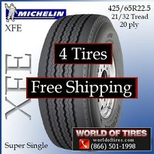 Michelin XFE 425/65R22.5 4 Tires Free Shipping