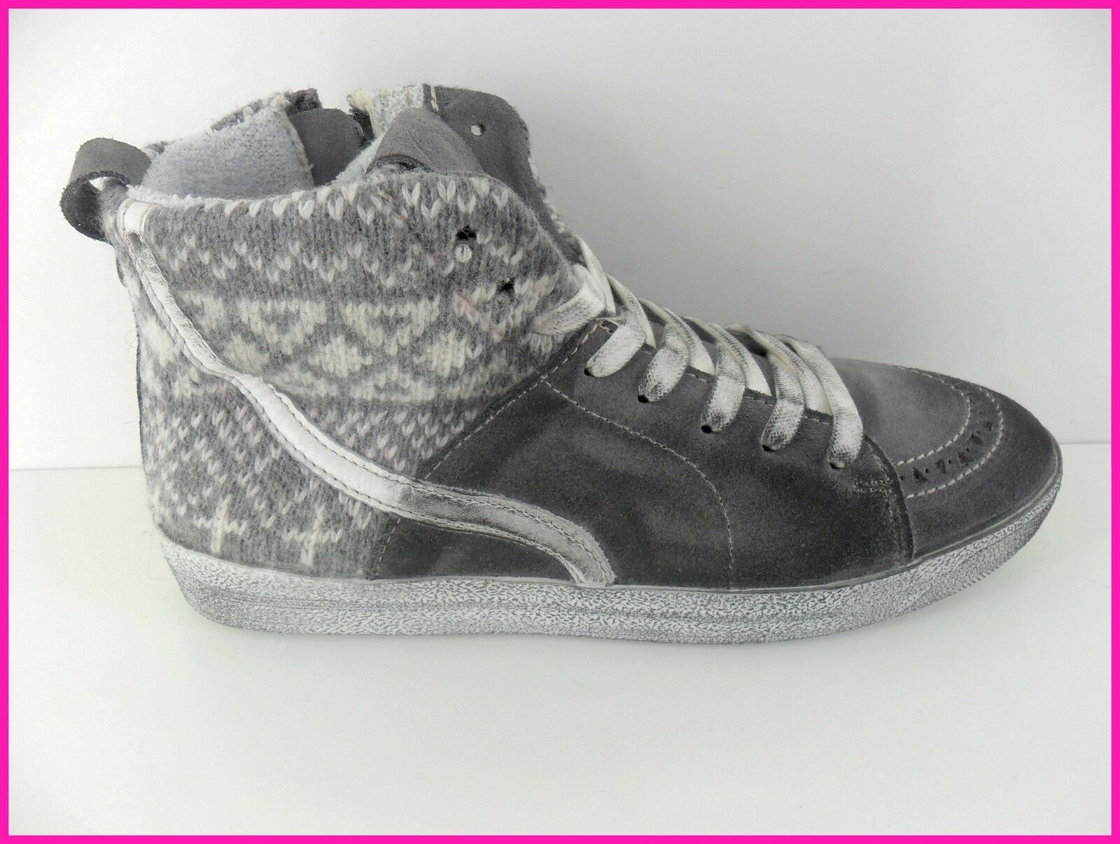SCONTO 50 % SNEAKERS KEEP  WINTER Damens ANTRACITE ART 26510 N° 37