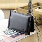 Men's Bifold Leather Money Clip Card Holder Wallet Front Pocket Purse Magnetic