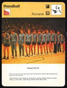 Sports Trading Cards 1978 Sportscaster Card Handball Rumania # 50-15 Nrmint/mint Olympics Cards Attractive Fashion