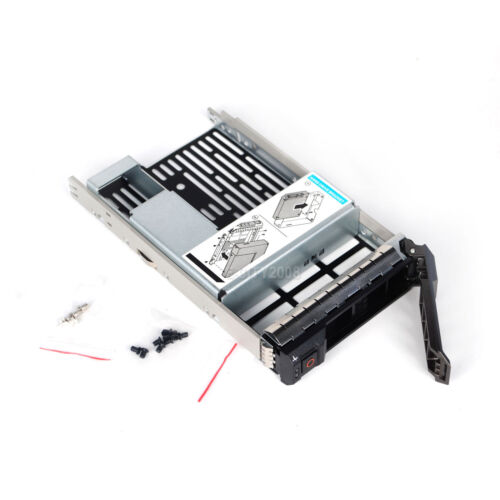 """3.5/"""" inch Hard Drive Tray Caddy w//2.5/"""" Adapter For Dell POWEREDGE R430 R530 R730"""