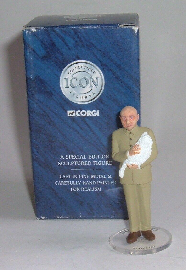 CORGI icono no. F0114, James Bond Colección-abejorro Baddie figura, - Excelente.