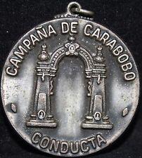 VENEZUELA CAMPANA CARABOBO CONDUCTA CONDECORATION