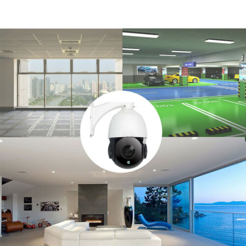 1080P 4.5/'/' 30X Zoom 2MP Outdoor HD PTZ IP Speed Dome Camera Outdoor Night ONVIF