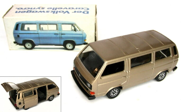 VW Bus t3 Schabak Model 1 43 Syncro Caravelle-Bronze Metallic-OVP
