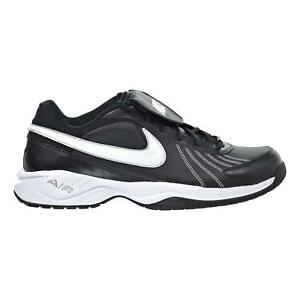 on sale 7228b ce0e4 Image is loading Mens-Nike-Diamond-Trainer-Turf-Shoes-Black-White-