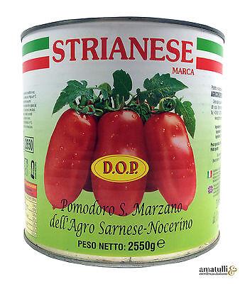 San Marzano DOP geschälte Tomaten Pomodori Pelati 2550g / 1660g Strianese