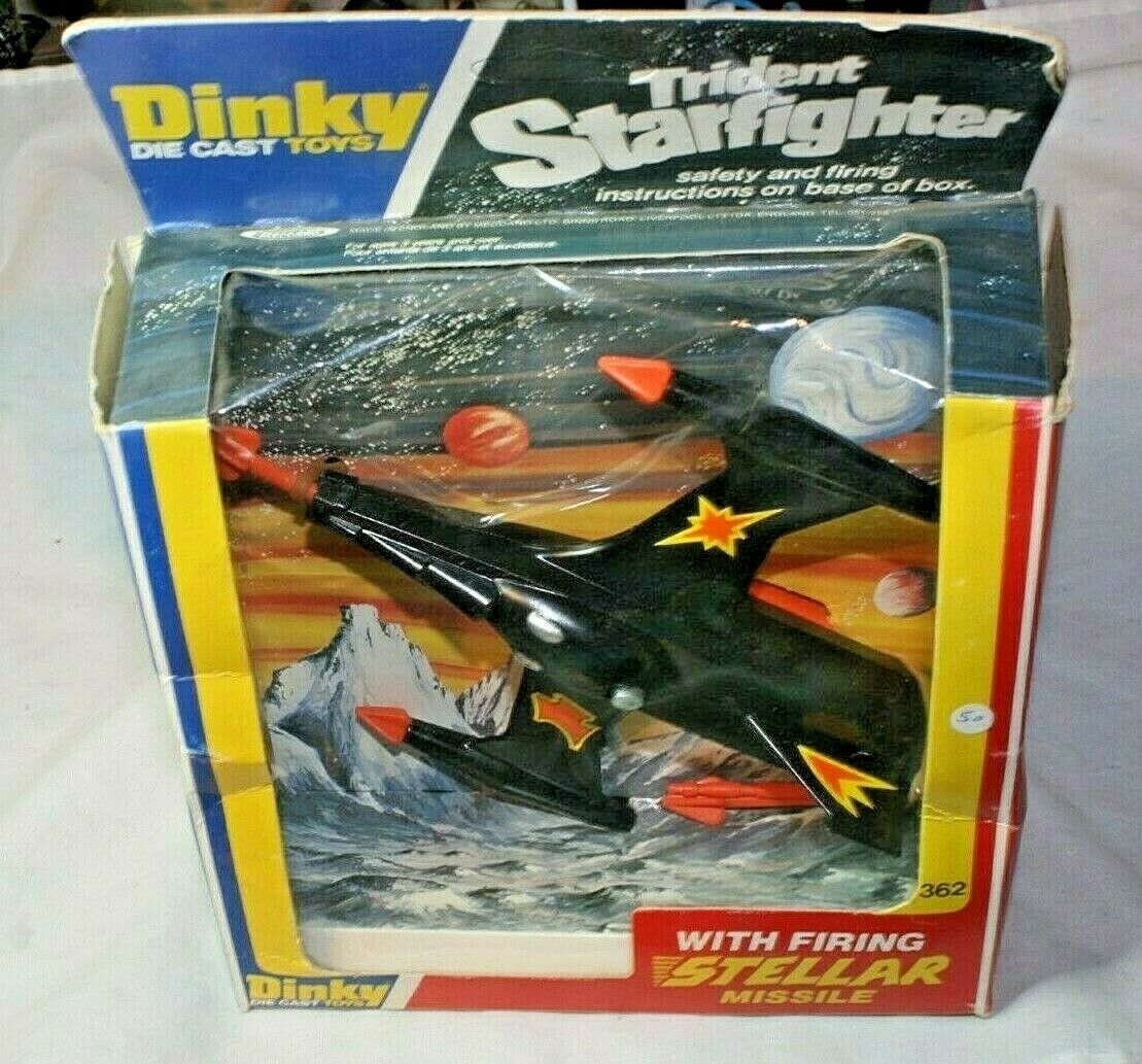 Dinky 362 Trident Star Fighter, Mint Unused Unused Unused in Original Box ea4463