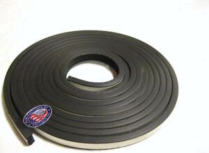 20-Ft-Universal-Hot-Rod-Door-amp-Trunk-Seal-Kit-Ribbed-Style-5-8-034-x-3-8-034