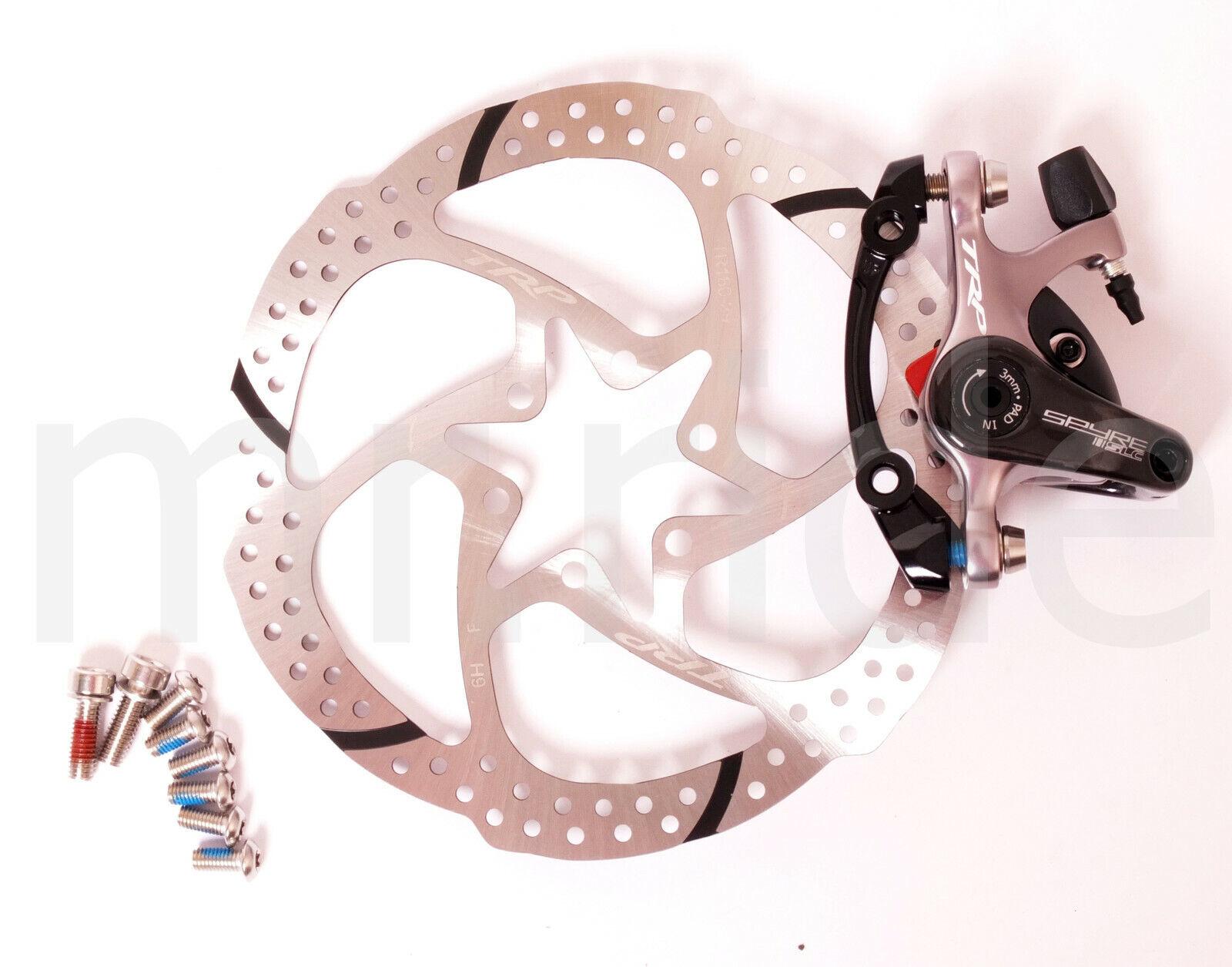 TRP SPYRE SLC autoBONIO azionamento braccio Mechancial stradaCX 160 mm Freno A Disco rossoore