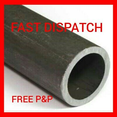 CHS 12MM X 1.2MM CIRCULAR MILD STEEL HOLLOW METAL TUBE PIPE SECTION CUT LENGTHS