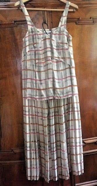 Madewell Broadway & Broome 2-Piece Silk Maxi Skirt Cami S M NWOT Original Owner