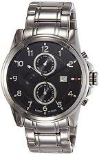 Tommy Hilfiger TH1710296 Men's Wrist Watch in Black Dial