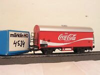 """Märklin H0 4534 DSB-Kühlwagen """"Coca-Cola"""" rot-----Z83"""