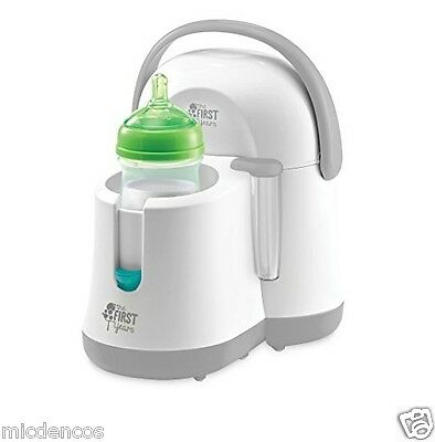 Baby-The First Years Night Cravings Bottle Warmer&Cooler, Auto Shut Off,Holds 2