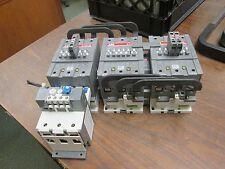 ABB Starter A95-30 120V Coil 125A Overload: TA110DU Range: 80-110A New Takeout
