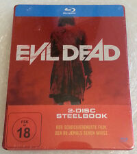 Evil Dead (2013) - Blu-Ray Limited Steelbook Edition German Version NEU NEW