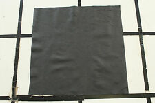 "Black Scrap Leather Cowhide Remnant 18"" x 18"" ZE7F2-7 Free shipping"