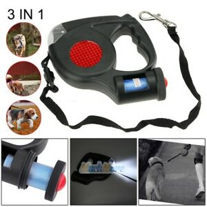 16ft-Automatic-Retractable-Dog-Leash-Pet-Collar-With-3-LED-Light-amp-Garbage-Bags